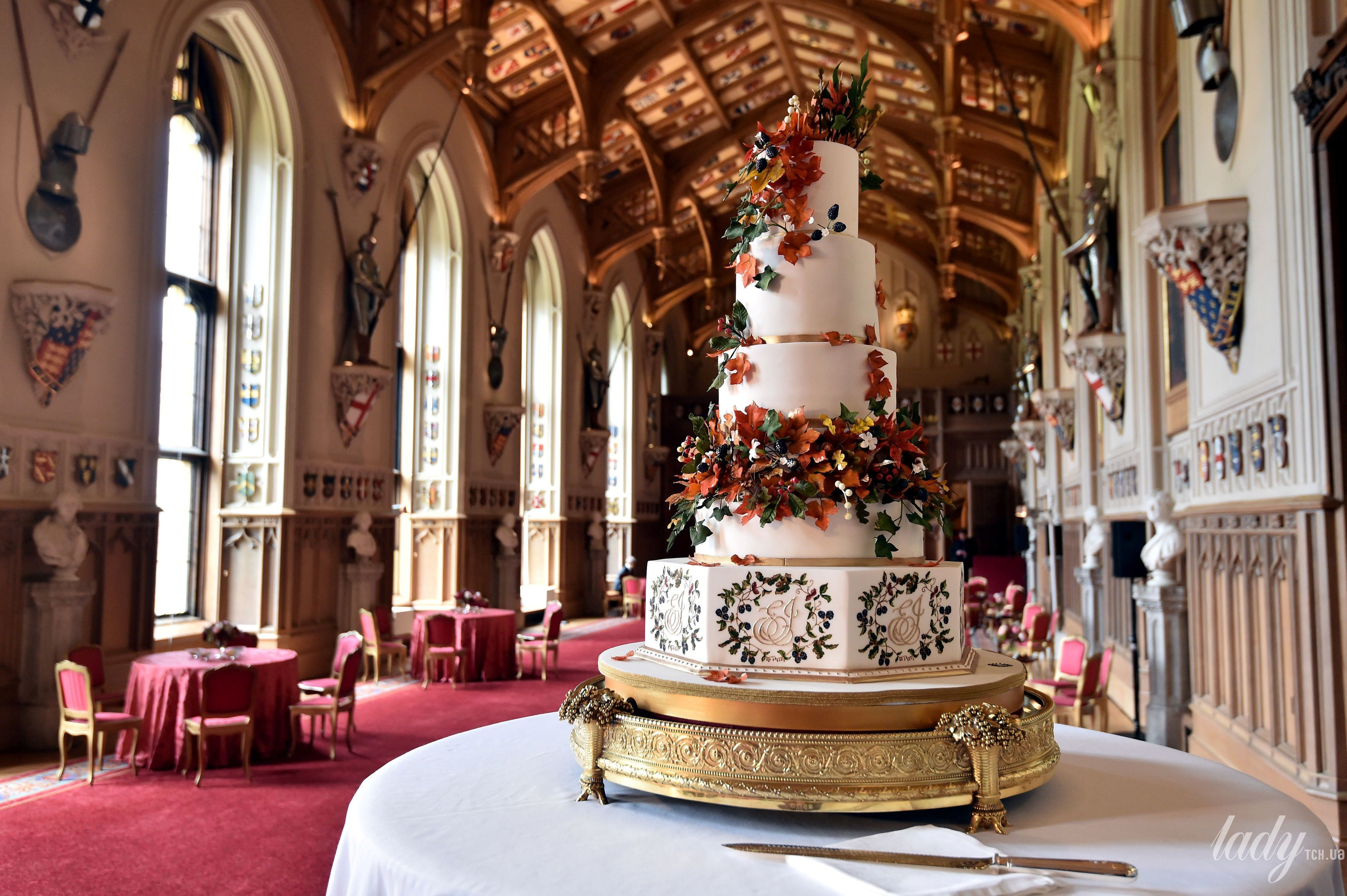 Торт на королевской свадьбе_2