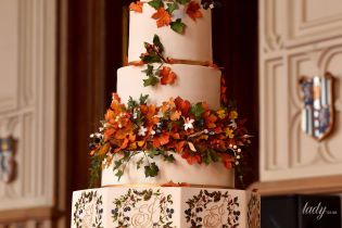 Це шедевр: весільний торт принцеси Євгенії