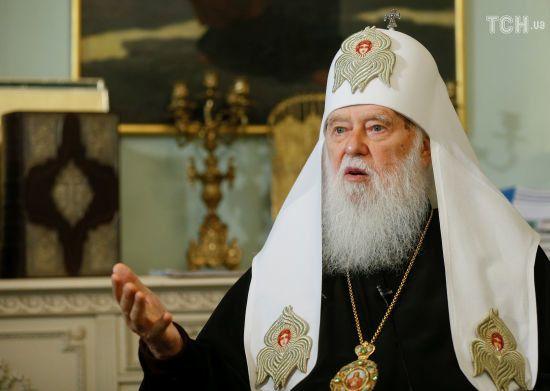 Філарет пояснив, чи претендуватиме на місце предстоятеля об'єднаної Української церкви