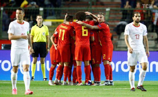 Ліга націй. Бельгія вирвала перемогу над Швейцарією, Хорватія та Англія розійшлися миром