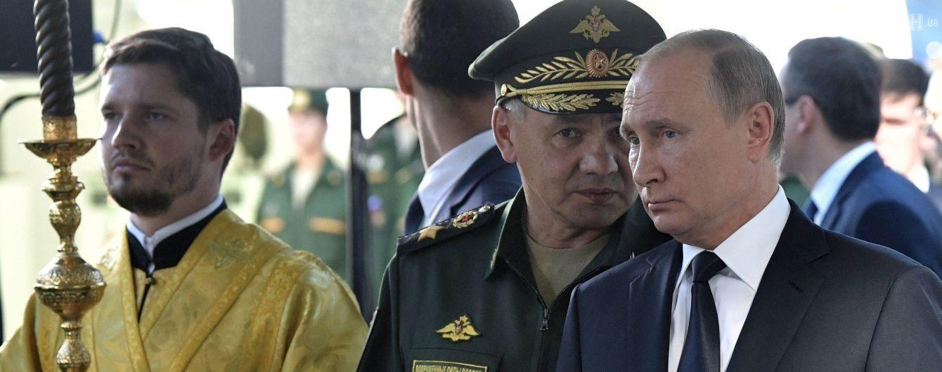 Рада безпеки РФ на чолі з Путіним обговорила ситуацію з православною церквою в Україні