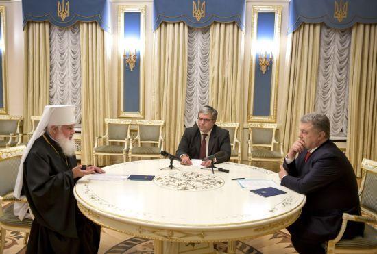 Порошенко попросив предстоятеля УАПЦ взяти активну участь у підготовці Об'єднавчого собору