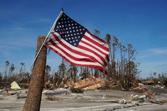 """Кількість жертв урагану """"Майкл"""" у США зросла до 16 осіб"""