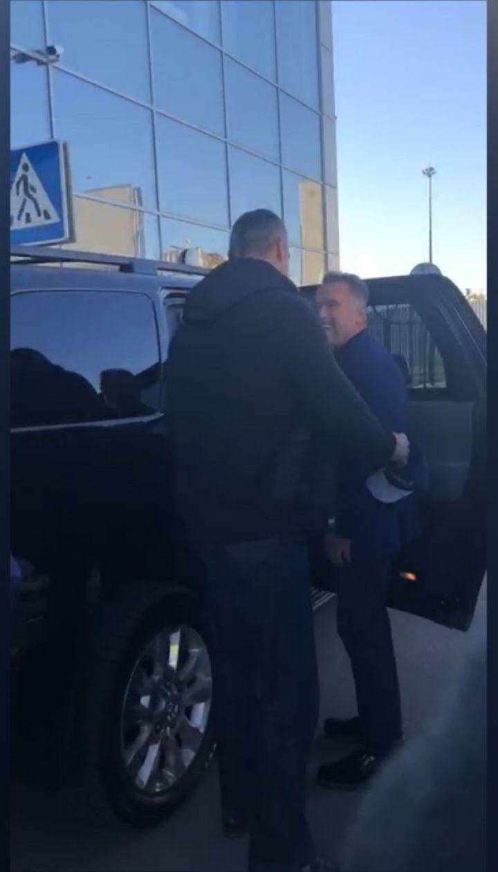 Арнольд Шварценеггер впервые прибыл в Украину