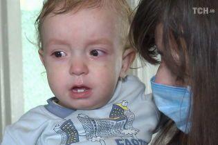 Термінового порятунку потребує малесенький Сашко з рідкісною хворобою