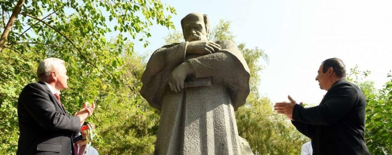 У Єревані урочисто відкрили пам'ятник Тарасу Шевченку