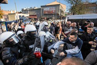 Слезоточивый газ и водометы. В Люблине во время марша ЛГБТ произошли столкновения с полицией