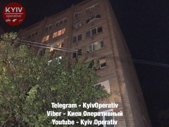 В Киеве в многоэтажке взорвался газ. Есть пострадавшие