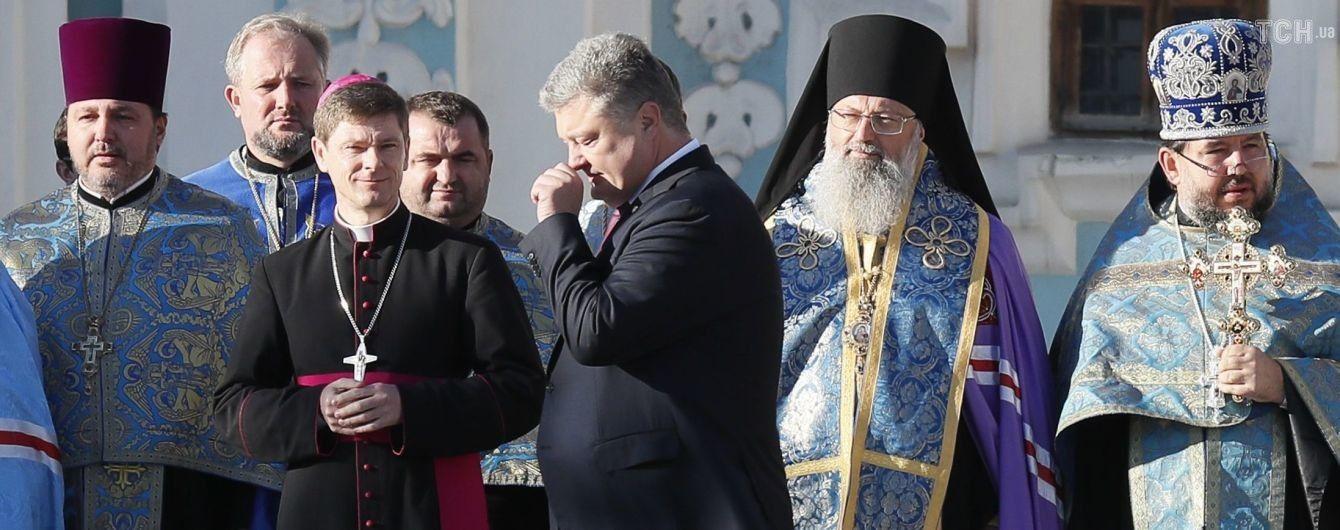 Порошенко пообіцяв не тиснути на тих, хто збереже вірність РПЦ