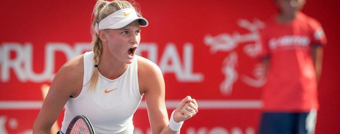 Ястремская впервые в карьере выиграла турнир серии WTA, сокрушив соперницу в финале Гонконга