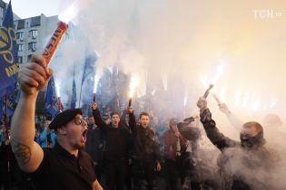 В полиции насчитали 15 тысяч участников Марша УПА в Киеве