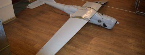 В штабе ООС показали видео, как вертолет сбил российский беспилотник на Луганщине