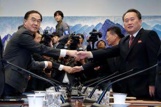 """Делегації КНДР та Південної Кореї зустрілися на лінії розмежування. Північ очікує """"суттєвого результату"""""""