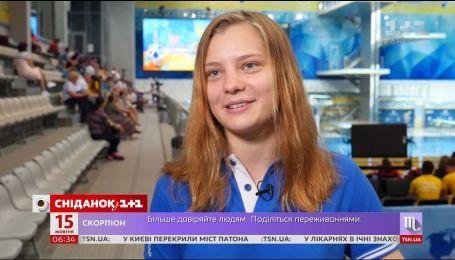 16-летняя София Лискун получила второе место по прыжках в воду на Юношеских Олимпийских играх