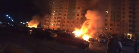 Співробітниці Коцюбинської селищної ради спалили дві машини