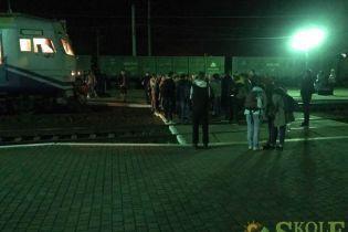 Пасажири блокували поїзд Мукачево-Львів через відсутність місць