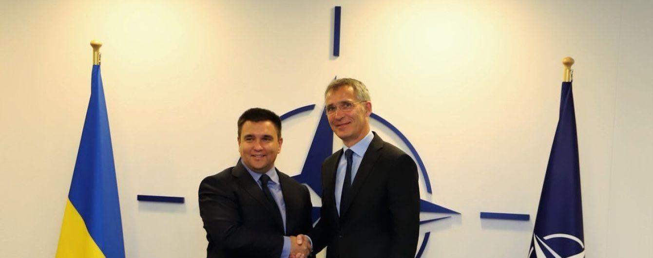 Климкин встретился с генсеком НАТО в Брюсселе