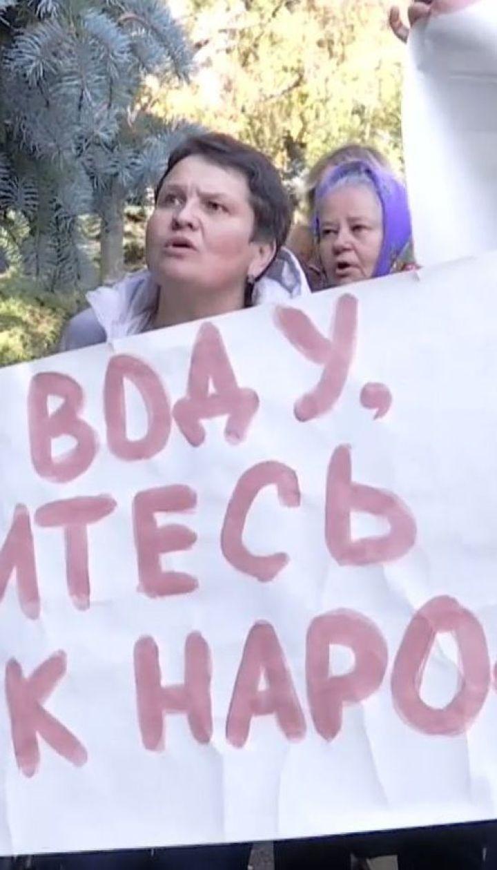 На Дніпропетровщині селяни вийшли на акцію протесту, бо понад 4 місяці змушені жити без води