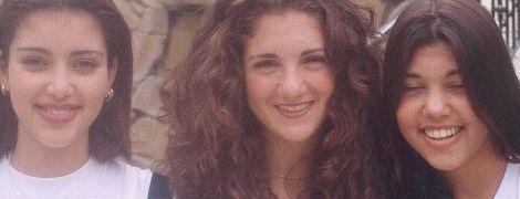 Не впізнати: Кім Кардашян знову показала, як виглядала в шкільні роки