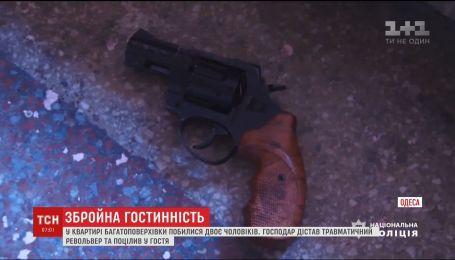 У центрі Одеси сталась бійка з стріляниною