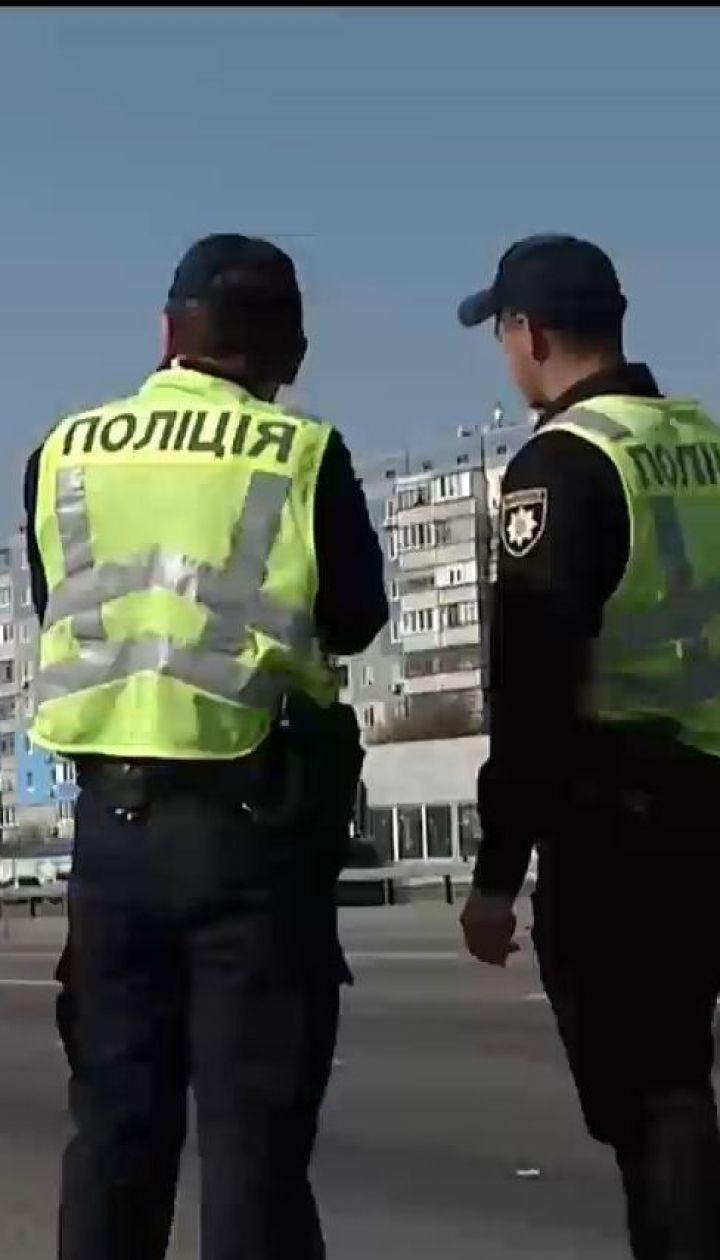 Украинские патрульные начали штрафовать за превышение скорости