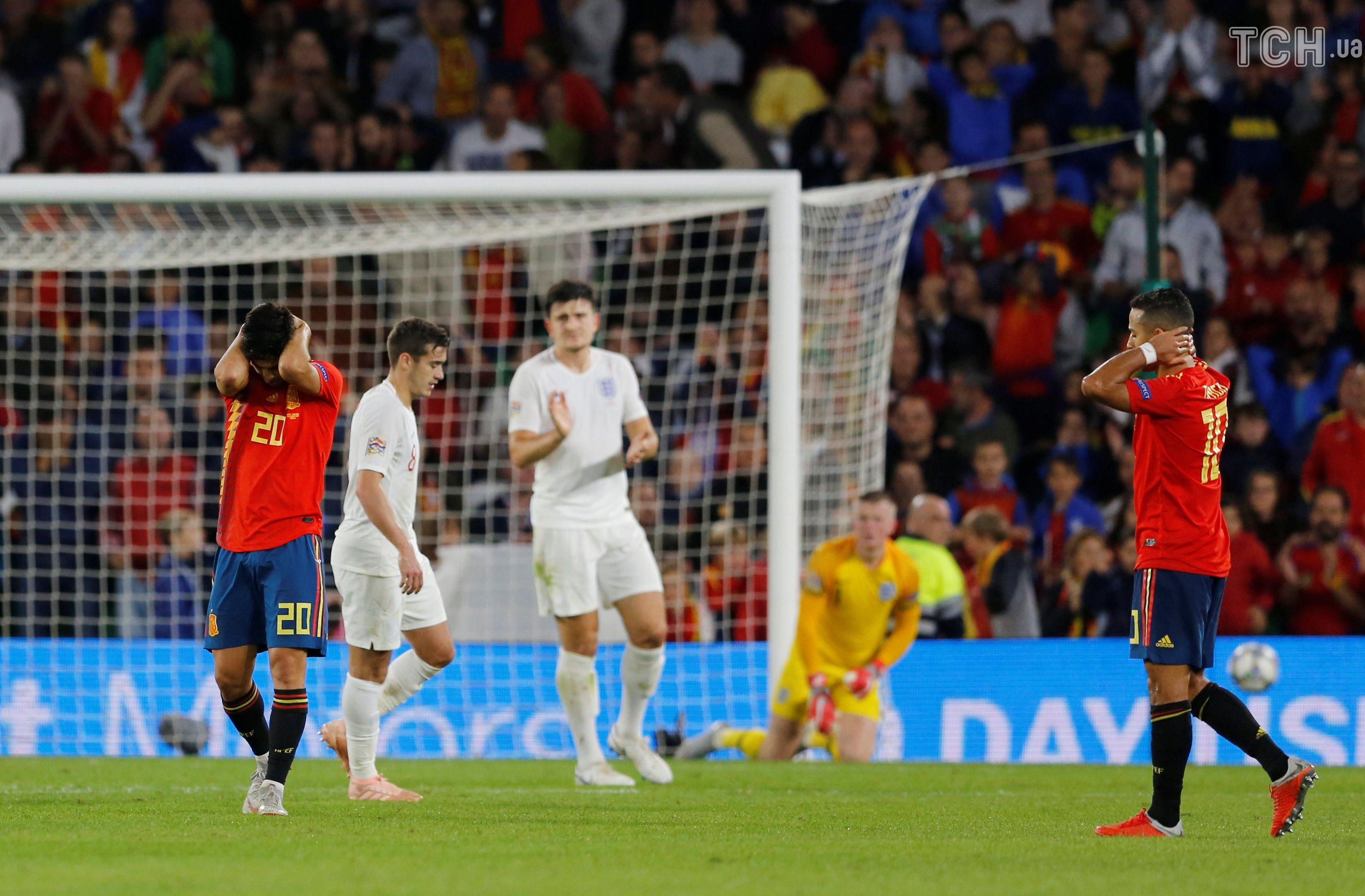Іспанія - Англія