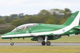 У Саудівській Аравії розбився військовий літак, екіпаж загинув