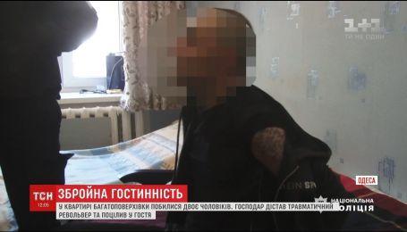 В Одесі конфлікт двох чоловіків закінчився стріляниною з револьвера