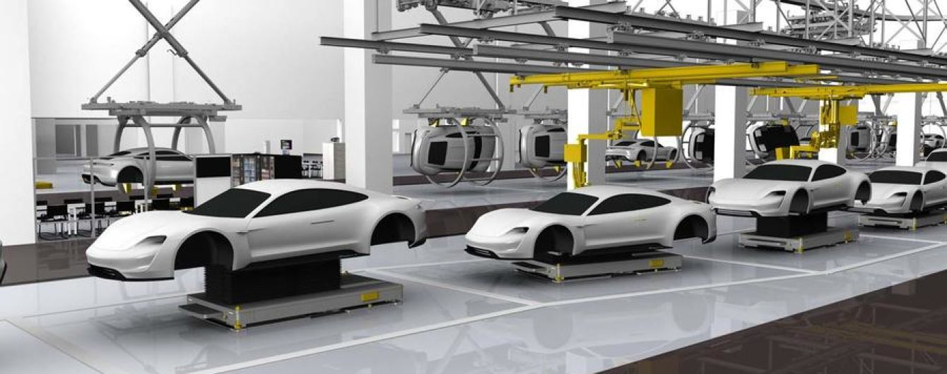 Porsche готовит производство к выпуску электрического спорткара
