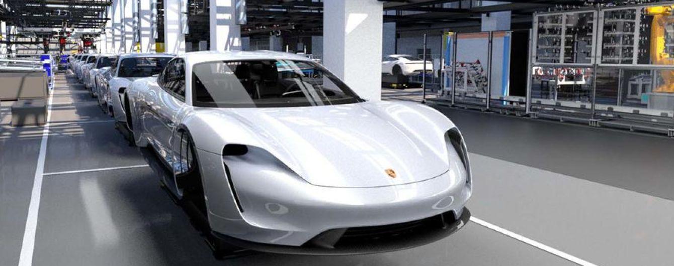 Попередні замовлення на електрокар Porsche перевищили плани виробництва