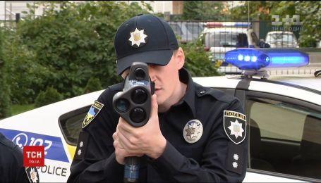 Патрульные с радарами начали штрафовать любителей быстрой езды