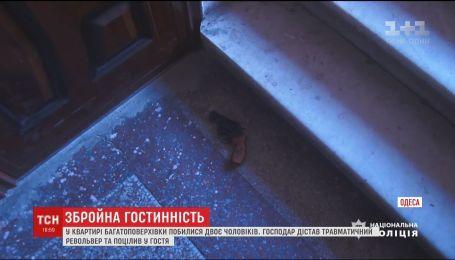 В Одессе ссора между двумя мужчинами переросла в стрельбу