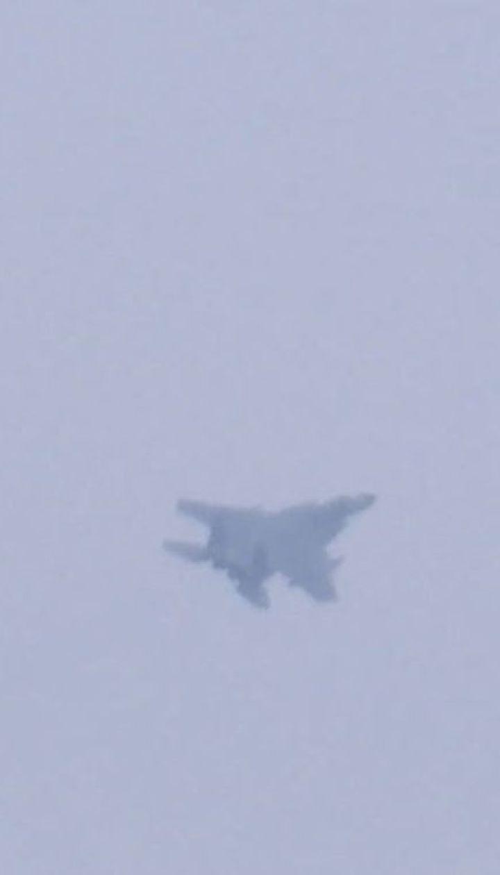 Два пілоти загинули під час падіння літака Су-27