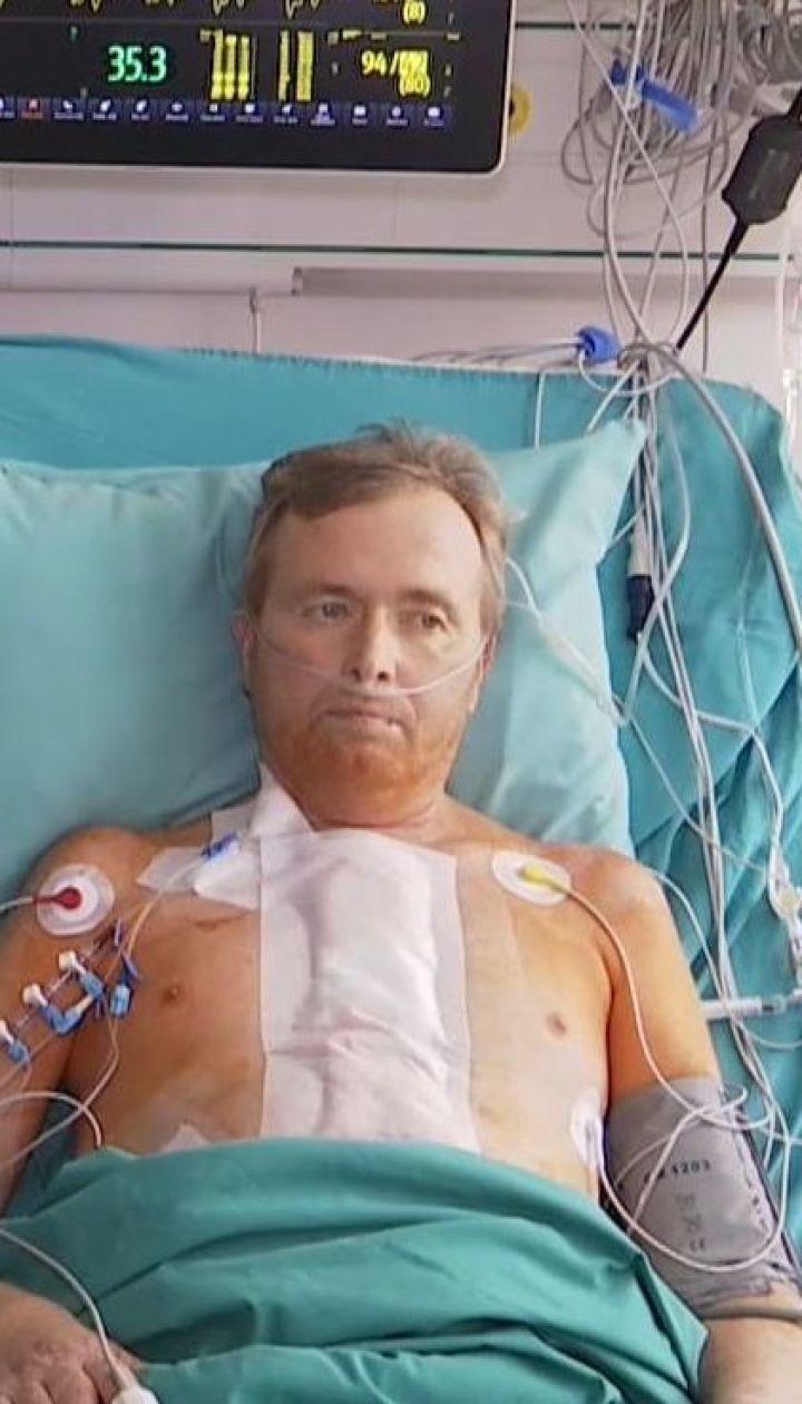 Житель Тернополя начал новую жизнь с механическим сердцем