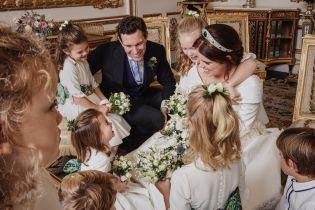 За кулисами свадьбы: принцесса Евгения поделилась еще одним трогательным снимком с поклонниками