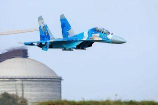 У Мережі показали фото з місця падіння літака Су-27 на Житомирщині