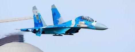В Сети показали фото с места падения самолета Су-27 на Житомирщине