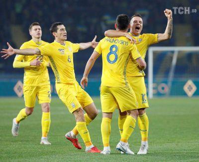 Сборная Украины одолела Чехию и оформила выход в элиту европейского футбола