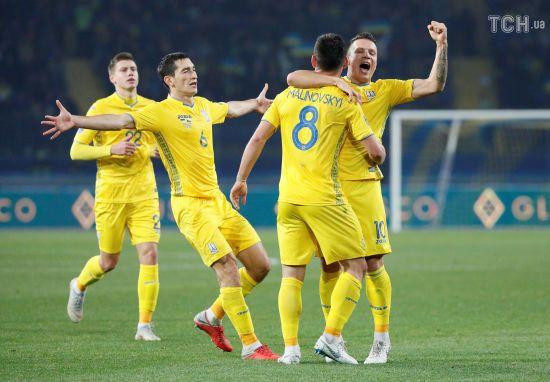 Збірна України здолала Чехію та оформила вихід до еліти європейського футболу