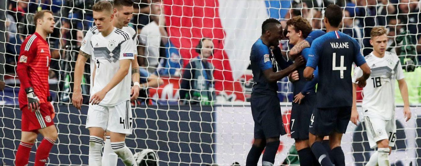 Ліга націй. Франція здобула вольову перемогу над Німеччиною
