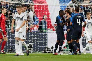 Лига наций. Франция одержала волевую победу над Германией