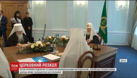 Російські клірики не братимуть участі в спільних літургіях зі священиками Вселенського патріархату