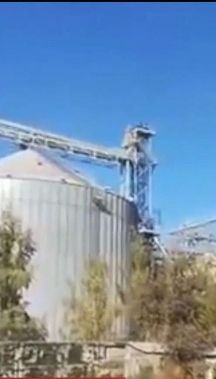 На Сумщині вибухнув зерновий елеватор