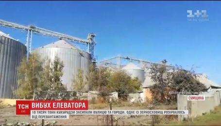 На Сумщине взорвался зерновой элеватор
