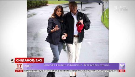 Мелания Трамп появилась на публике после скандального интервью об изменах мужа