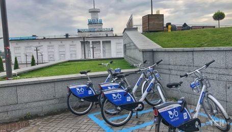 Байкшеринг в Киеве работает второй месяц: каковы итоги работы сервиса