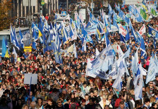 Профспілки анонсували нову масштабну акцію протесту в Києві