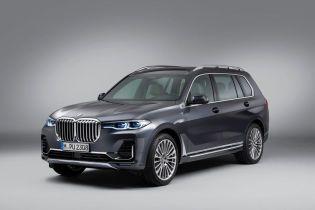 У BMW розкрили подробиці позашляховика X7