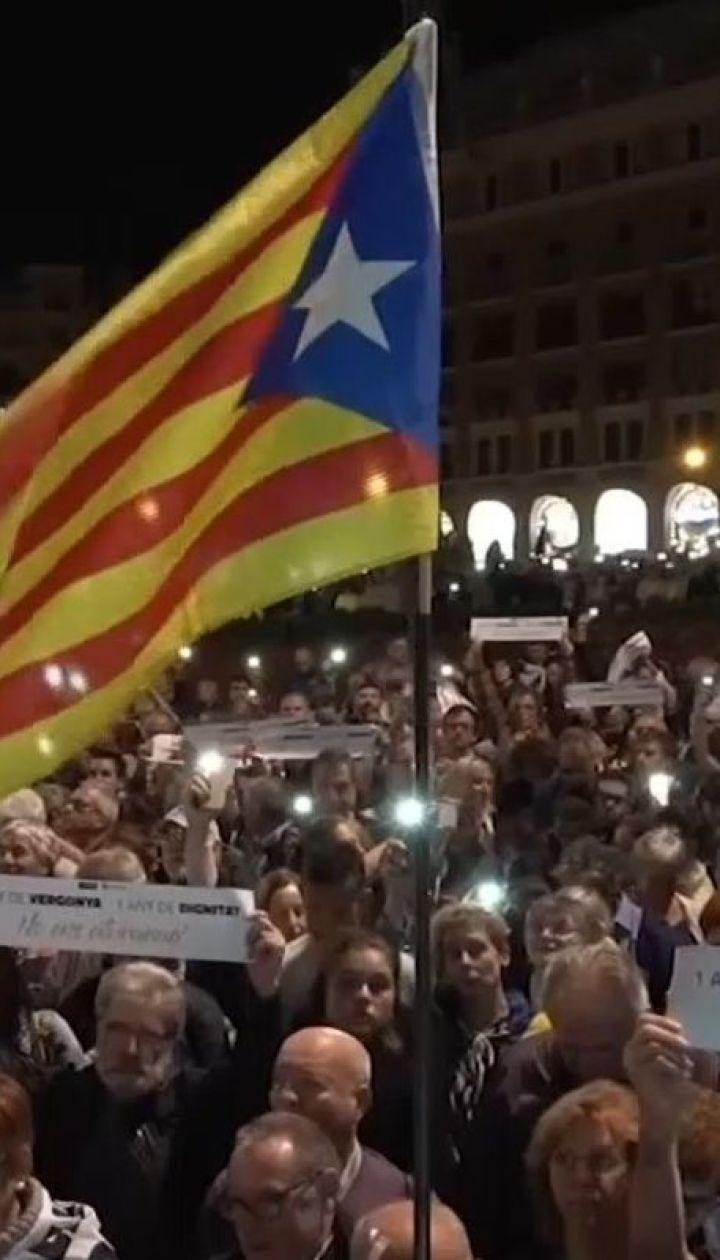 Тисячі людей вийшли на мітинг у Барселоні