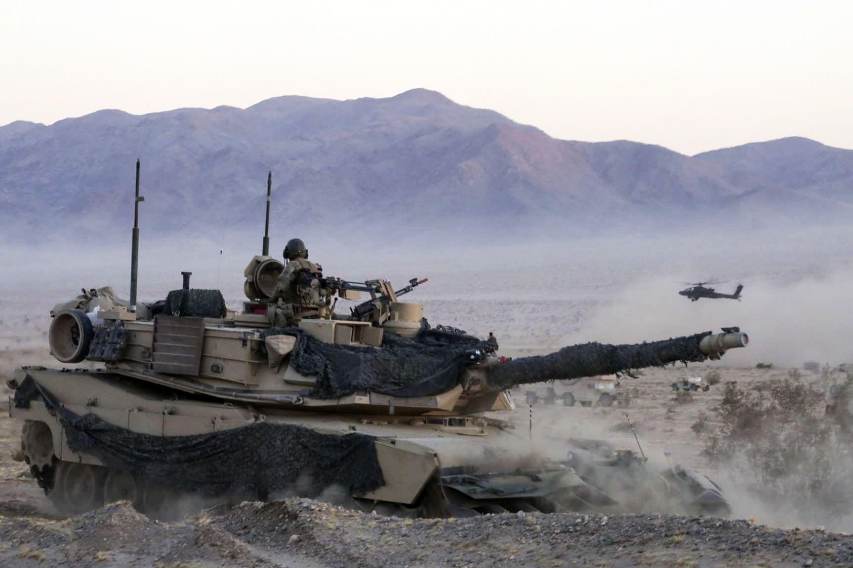 Американський танк Абрамс